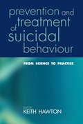 Cover for Prevention and Treatment of Suicidal Behaviour