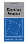 Cover for Elementary Geometry