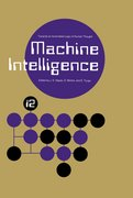 Cover for Machine Intelligence 12: Towards an Automated Logic of Human Thought