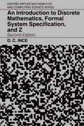 Cover for An Introduction to Discrete Mathematics, Formal System Specification, and Z