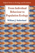 Cover for From Individual Behaviour to Population Ecology