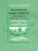 Cover for Vanishing Rain Forests