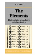 Cover for The Elements: Their Origin, Abundance, and Distribution