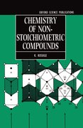 Cover for Chemistry of Non-stoichiometric Compounds