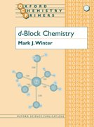 Cover for d-Block Chemistry