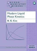 Cover for Modern Liquid Phase Kinetics
