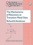 Cover for The Mechanisms of Reactions at Transition Metal Sites