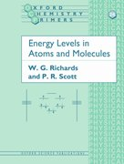 Cover for Energy Levels in Atoms and Molecules