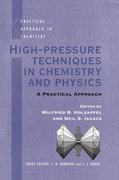 Cover for High Pressure Techniques in Chemistry and Physics
