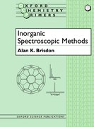 Cover for Inorganic Spectroscopic Methods