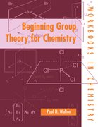 Cover for Beginning Group Theory for Chemistry