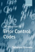 Cover for Introduction to Error Control Codes