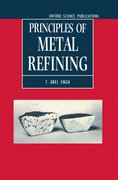 Cover for Principles of Metal Refining
