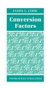 Cover for Conversion Factors