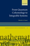Cover for From Quantum Cohomology to Integrable Systems