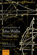 Cover for The Correspondence of John Wallis