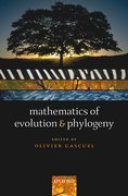 Cover for Mathematics of Evolution and Phylogeny