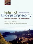 Cover for Island Biogeography
