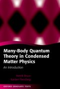 Cover for Many-Body Quantum Theory in Condensed Matter Physics