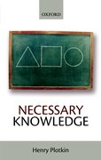 Cover for Necessary Knowledge