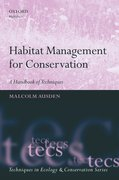 Cover for Habitat Management for Conservation