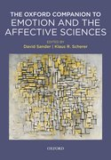 Cover for Oxford Companion to Emotion and the Affective Sciences