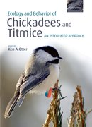 Cover for Ecology and Behavior of Chickadees and Titmice