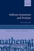Cover for Solitons, Instantons, and Twistors