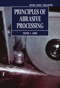 Cover for Principles of Abrasive Processing