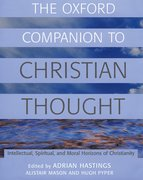 Cover for The Oxford Companion to Christian Thought