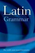 Cover for A Latin Grammar