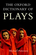 Cover for The Oxford Dictionary of Plays
