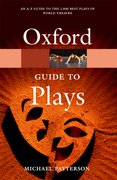 Cover for The Oxford Guide to Plays
