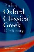 Cover for Pocket Oxford Classical Greek Dictionary