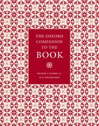 Cover for The Oxford Companion to the Book