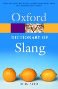 Cover for The Oxford Dictionary of Slang