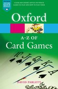 Cover for The A-Z of Card Games