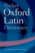Cover for Pocket Oxford Latin Dictionary