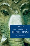 Cover for A Dictionary of Hinduism