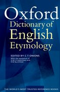 Cover for The Oxford Dictionary of English Etymology