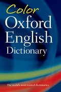 Cover for Color Oxford English Dictionary