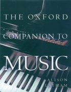 Cover for The Oxford Companion to Music