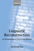 Cover for Linguistic Reconstruction