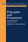 Cover for Principles and Parameters