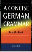 Cover for A Concise German Grammar
