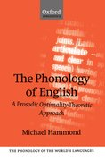 Cover for The Phonology of English