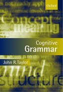 Cover for Cognitive Grammar
