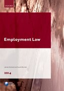 Cover for Employment Law LPC Guide 2014