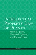 Cover for Intellectual Property Law of Plants