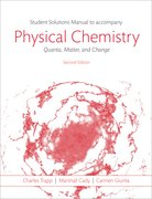 Cover for Students Solutions Manual to Accompany Physical Chemistry: Quanta, Matter, and Change 2e